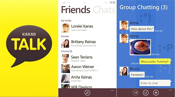 Simple Interface & Multiple Feature with KakaoTalk App