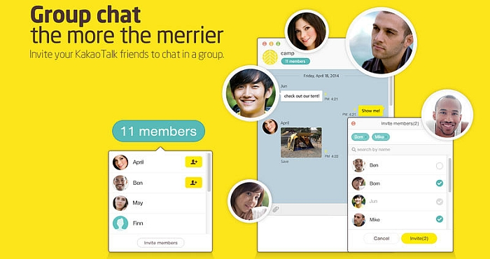 Kakao Talk Features